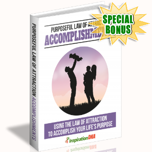 Special Bonuses - December 2017 - Purposeful Law Of Attraction Accomplishments