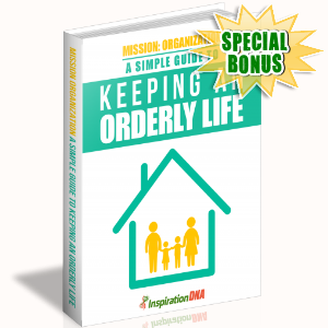 Special Bonuses - December 2017 - Keeping An Orderly Life