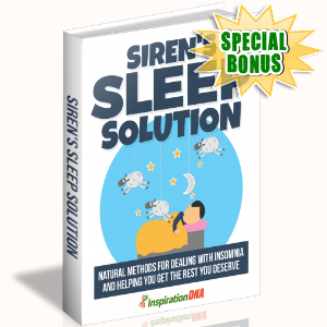 Special Bonuses - December 2017 - Siren's Sleep Solution