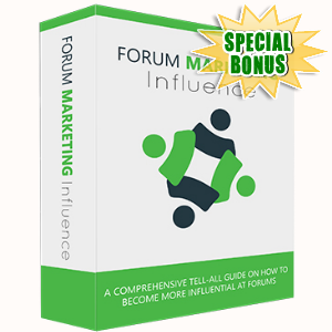 Special Bonuses - December 2017 - Forum Marketing Influence