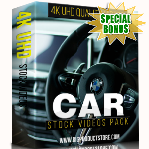 Special Bonuses - December 2017 - Car 4K UHD Stock Videos Pack
