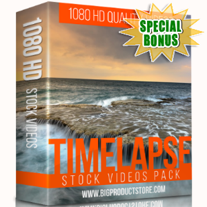 Special Bonuses - December 2017 - Timelapse 1080 HD Stock videos Pack