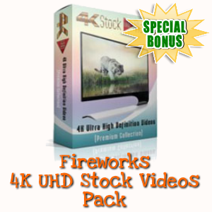 Special Bonuses - December 2017 - Fireworks 4K UHD Stock Videos Pack