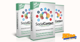 WP Social Contact Review and Bonuses