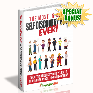 Special Bonuses - January 2018 - The Most In Depth Self Discovery Book Ever