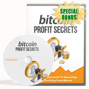 Special Bonuses - January 2018 - Bitcoin Profit Secrets Video Upgrade