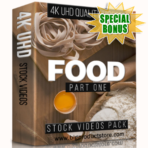 Special Bonuses - January 2018 - Food 4K UHD Stock Videos Part 1 Pack