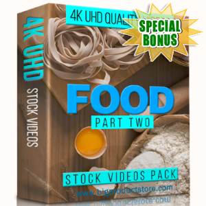 Special Bonuses - January 2018 - Food 4K UHD Stock Videos Part 2 Pack