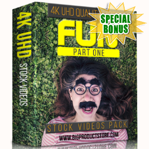 Special Bonuses - January 2018 - Fun 4K UHD Stock Videos Part 1 Pack