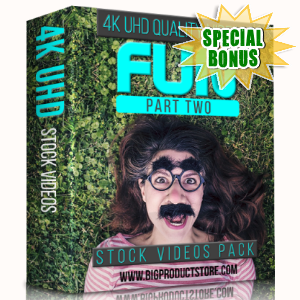 Special Bonuses - January 2018 - Fun 4K UHD Stock Videos Part 2 Pack