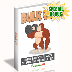 Special Bonuses - January 2018 - Bulk Up