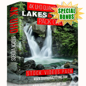 Special Bonuses - January 2018 - Lakes & Water 4K UHD Stock Videos Pack 1