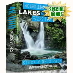 Special Bonuses - January 2018 - Lakes & Water 4K UHD Stock Videos Pack 2
