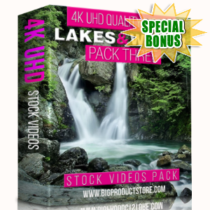 Special Bonuses - January 2018 - Lakes & Water 4K UHD Stock Videos Pack 3