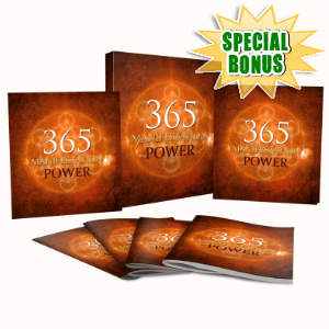 Special Bonuses - January 2018 - 365 Manifestation Power