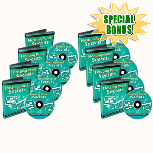 Special Bonuses - January 2018 - Hosting Panel Secrets Video Series Pack