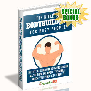 Special Bonuses - January 2018 - The Bible Of Bodybuilding For Busy People
