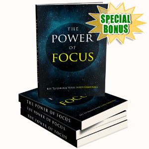 Special Bonuses - January 2018 - The Power Of Focus