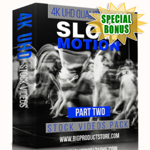Special Bonuses - February 2018 - Slow Motion 4K UHD Stock Videos Part 2 Pack