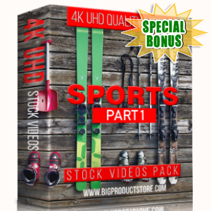 Special Bonuses - February 2018 - Sports 4K UHD Stock Videos Part 1 Pack