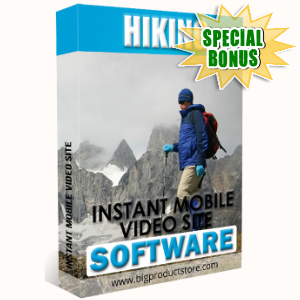 Special Bonuses - February 2018 - Hiking Instant Mobile Video Site Software