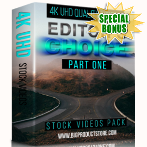 Special Bonuses - February 2018 - Editors Choice 4K UHD Stock Videos Pack Part 1