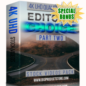 Special Bonuses - February 2018 - Editors Choice 4K UHD Stock Videos Pack Part 2