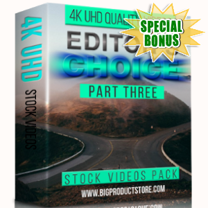 Special Bonuses - February 2018 - Editors Choice 4K UHD Stock Videos Pack Part 3