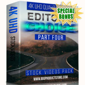 Special Bonuses - February 2018 - Editors Choice 4K UHD Stock Videos Pack Part 4