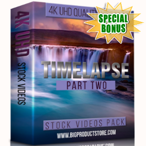 Special Bonuses - February 2018 - Timelapse 4K UHD Stock Videos Pack Part 2