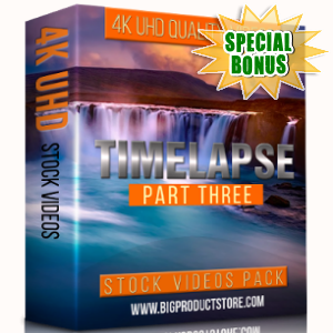 Special Bonuses - February 2018 - Timelapse 4K UHD Stock Videos Pack Part 3