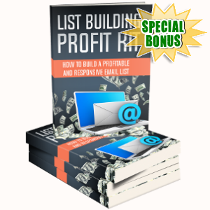 Special Bonuses - March 2018 - List Building Profit Kit Pack