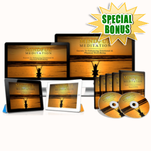 Special Bonuses - March 2018 - Mindful Meditation Mastery Video Upgrade Pack