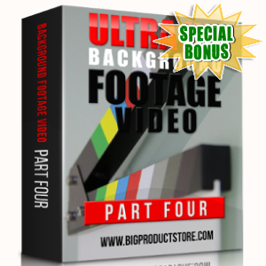 Special Bonuses - March 2018 - Ultra HD Background Footage Videos Part 4 Pack
