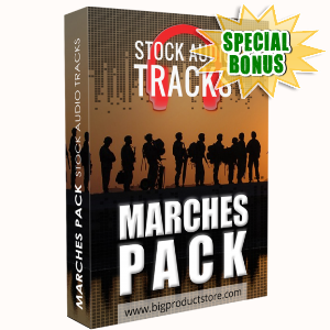 Special Bonuses - March 2018 - Marches Stock Audio Tracks Pack