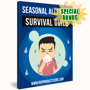 Special Bonuses - March 2018 - Seasonal Allergies Survival Guide