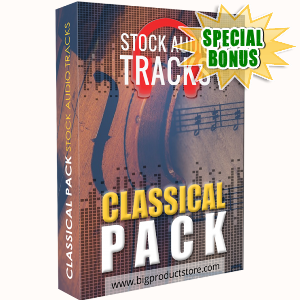 Special Bonuses - March 2018 - Classical Stock Audio Tracks Pack