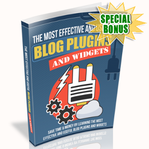 Special Bonuses - March 2018 - The Most Effective And Useful Blog Plugins And Widgets