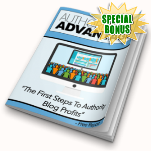 Special Bonuses - March 2018 - Authority Blog Advantage Pack
