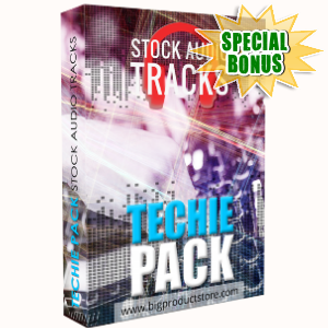 Special Bonuses - April 2018 - Techie Stock Audio Tracks Pack