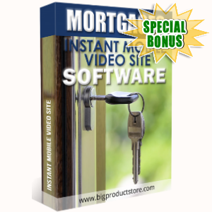 Special Bonuses - April 2018 - Mortgages Instant Mobile Video Site Software