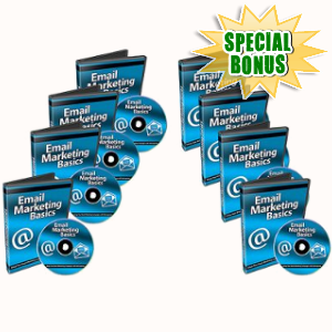 Special Bonuses - April 2018 - Email Marketing Basics Video Series Pack
