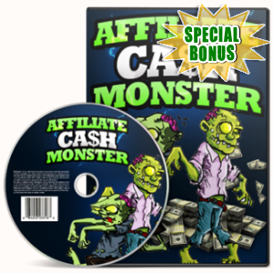 Special Bonuses - April 2018 - Affiliate Cash Monster Video Series Pack