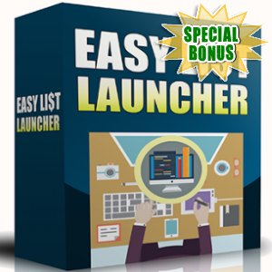 Special Bonuses - April 2018 - Easy List Launcher Pack