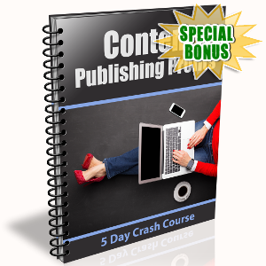 Special Bonuses - May 2018 - Content Publishing Profits