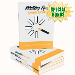 Special Bonuses - May 2018 - Writing Tips Made Easy