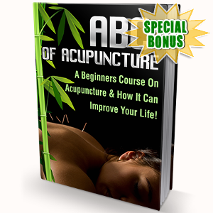 Special Bonuses - June 2018 - ABC Of Acupuncture