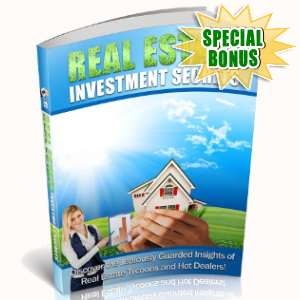 Special Bonuses - June 2018 - Real Estate Investment Secrets