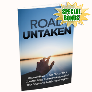 Special Bonuses - July 2018 - Road Untaken Pack