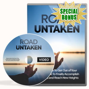 Special Bonuses - July 2018 - Road Untaken Video Upgrade Pack